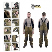 Demisezonininis kostiumas AKARA NORTH RIVER Žvejo kombinezonai, kostiumai