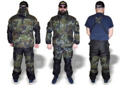 Demisezoninis Kostiumas GORKA Camo 2 dalių, 52-54 dydis Fisherman's suits, suits