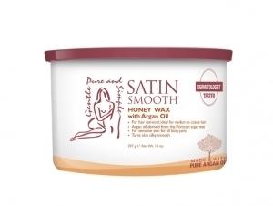 Depiliacijos kremas Satin Smooth (Honey Wax With Argan Oil) 400 ml Depiliacija