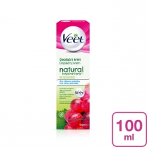 Depiliacijos kremas Veet Natural Inspirations 100 ml Vaksācija