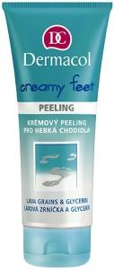 Dermacol Creamy Feet Peeling Cosmetic 100ml Kojų priežiūros priemonės