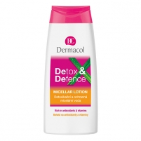Dermacol Detox&Defence Micellar Lotion Cosmetic 200ml