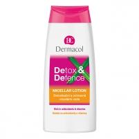 Dermacol Detox&Defence Micellar Lotion Cosmetic 200ml Kūno kremai, losjonai