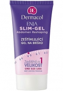 Dermacol Enja Slim Gel Abdomen Reshaping Cosmetic 150ml (An abdomen slimming gel) Stangrinamosios kūno priežiūros priemonės