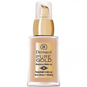 Dermacol Make-Up Pure Gold Cosmetic 30g Maskuojamosios priemonės veidui