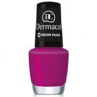 Dermacol Neon Polish Cosmetic 5ml 17 kiwi Dekoratyvinė kosmetika nagams