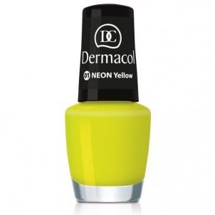 Dermacol Neon Polish Cosmetic 5ml Nr.02 Dekoratyvinė kosmetika nagams