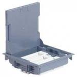 Dėžė grindinė montažinė 9mod. Legrand, 089611 Plaster slots