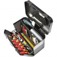 Parat 2.012.535.981 Evolution Tool Case with Wheels and CP-7 Tool Holder Tools boxes bags