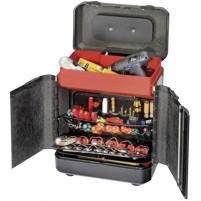 Parat 2.012.540.981 Evolution Tool Case with Wheels and Push-in Compartments Tools boxes bags