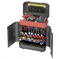Parat Evolution Tool Case with Wheels and CP-7-Tool Holders Tools boxes bags