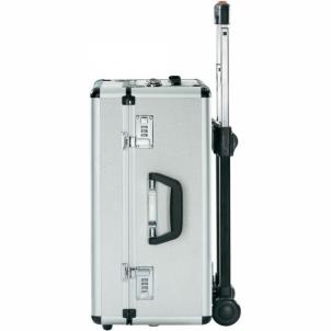 Dėžė įrankiams TOOLCRAFT Aluminium Roller Pilot Tool Box Dimensions: (L x W x H) 470 x 230 x 360 mm Įrankių dėžės krepšiai