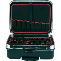 Toolcraft Rigid Tool Case with Wheels Dimensions: (L x W x H) 515 x 435 x 265 mm ABS