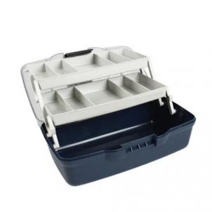 Dėžė žvejybinė Aquatech 1702 2 stalčiukų Žvejybinės dėžės, krepšiai