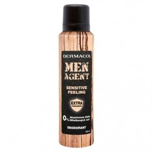 Dezodorantas Dermacol Men Agent Sensitive Feeling Deodorant Cosmetic 150ml