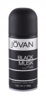 Dezodorantas Jovan Musk Black Deodorant 150ml Dezodorantai/ antiperspirantai