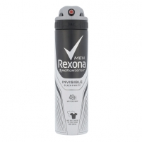Dezodorantas Rexona Men Invisible 48H Anti-Perspirant Deospray Cosmetic 150ml