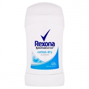 Pieštukinis dezodorantas Rexona Motionsense Cotton Dry 40 ml Dezodorantai/ antiperspirantai