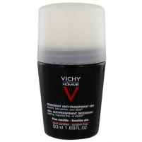 Dezodorantas Vichy Deodorant for sensitive skin 48H Homme Deo roll-on (Anti-Transpirant Extra Sensitive) 50 ml Dezodorantai/ antiperspirantai