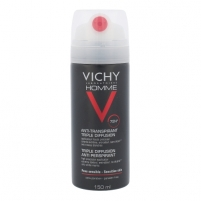 Dezodorantas Vichy Homme Triple Diffusion Anti-perspirant Spray Cosmetic 150ml