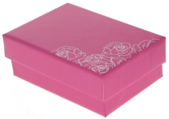 Dėžutė papuošalui Beneto Gift box K-SF-016-P 8x3 Rotaslietas kastes