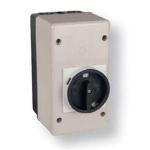 Dėžutė plastikinė, MPE tipo varikliniams jung., izoliuota IP55, su rankenėle, HP-55, ETI 04648032 Other automatic switches
