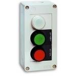 Dėžutė start-stop, 2 mygtukai ir indikacinė lemputė, JCZ4B2A1, ETI 04770368,