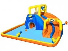 Didelė pripučiama žaidimų aikštelė Bestway, 551x502x265 Rotaļu laukumi