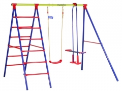 Didelės supynės vaikams su kopėčiomis Hudora Rotaļu laukumi