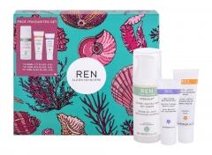 Dieninis kremas Ren Evercalm Global Protection 50ml + kaukė + serumas Kvepalų ir kosmetikos rinkiniai