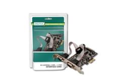 DIGITUS Plokštė 2xRS, 1xLPT PCIExpress