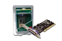 Digitus Plokštė Multi I/O 32-Bit, PCI   2xserial, 1xparallel
