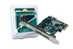 DIGITUS Plokštė PCI-E prie eSATA II  SATA II 2-port