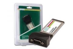 Digitus Plokštė RS 232 ExpressCard