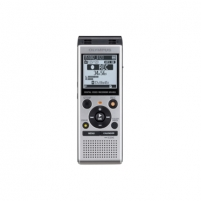 Diktofonas Olympus WS-852 Digital Voice Recorder with MP3 Player, 4GB internal memo,  inc. Batteries, Silver Diktofonai