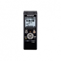 Diktofonas Olympus WS-853 Digital Voice Recorder with MP3 Player, 8GB internal memo, inc. Rechargeable Ni-MH Batteries and Case, Black Diktofonai