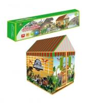 Dinozaurų žaidimų palapinė vaikams OC119 Žaidimų aikštelės