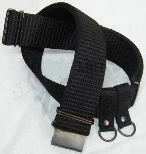 Diržas lauko, kariškas, juodas Outfit, belts, holsters