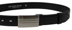 Diržas Penny Belts Men´s Leather Social 35-020-8PS-60 Black Drošības jostas