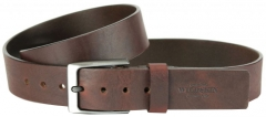 Diržas Wildskin Leather belt 9320 dark brown