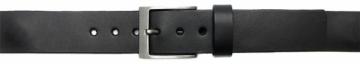 Diržas Wildskin Men´s black leather belt 9139 Diržai