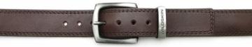 Diržas Wildskin Men´s brown leather belt 9039 Diržai