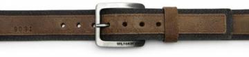 Diržas Wildskin Men´s dark brown leather belt 9091 Diržai
