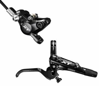 Diskiniai stabdžiai galiniai Shimano XT BL/BR-M8000 . Dviračių stabdžių sistema