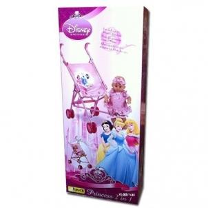 Disney 340705 Princess 2 in 1 vežimėlis lėlėms
