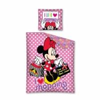 DISNEY Minnie Mouse  dvipusės patalynės komplektas (Apsipirkinėjimas)
