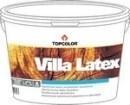 Dispersiniai dažai medienai Villa Latex 10l (skandinaviška vyšnia)