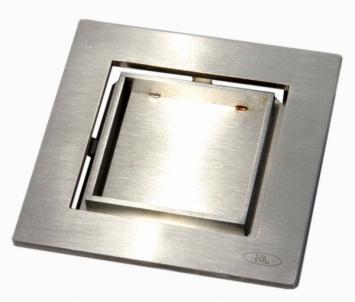 Dizaininės grotelės HL0540I įklijuoti plytelei