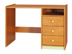DM Rašomasis stalas 2 Mediniai vaikų kambario baldai