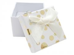 Dovanų dėžutė auskarams ar žiedui JK Box MB-3/A20 5,1x5,1x3,6 Rotaslietas kastes